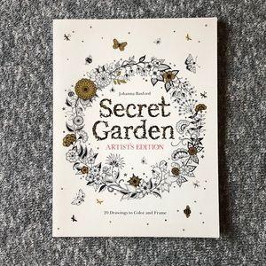 NEW! Johanna Basford SecretGarden Artist's Edition